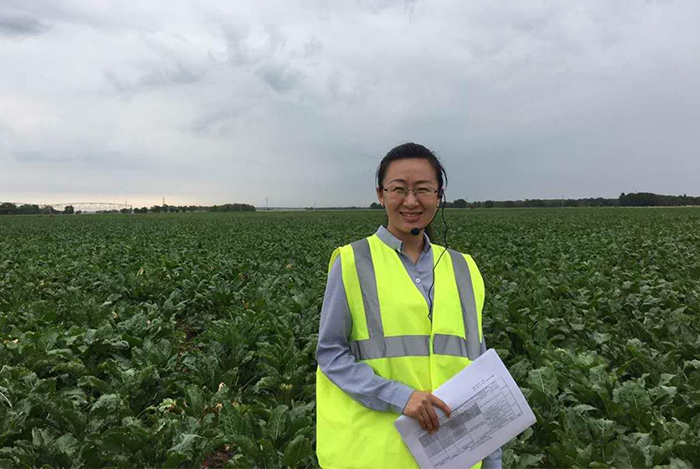 Bella Zhao Agriculture Manager AB Sugar China