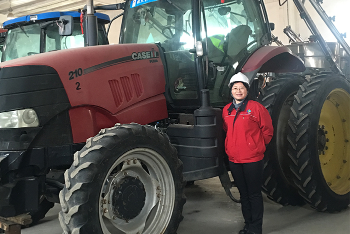 Fan Yun Agriculture Machinery Manager AB Sugar China