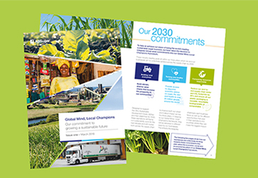 AB Sugar - first sugar company to launch Group-wide 2030 sustainability commitments